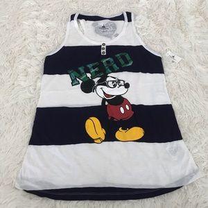 Disney Mickey Nerd Tank